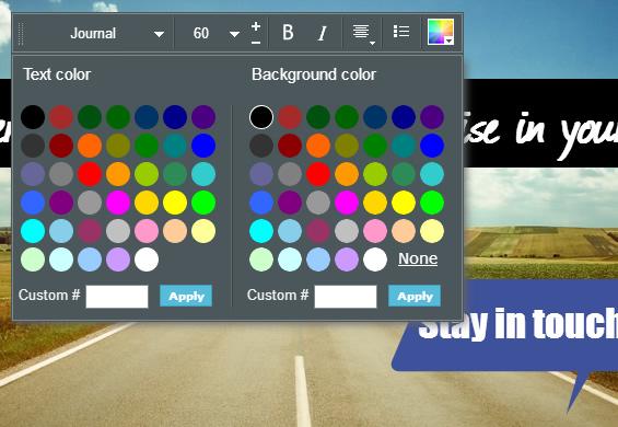 Visme_Text-Color