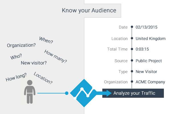 visme analytics and metrics for presentations