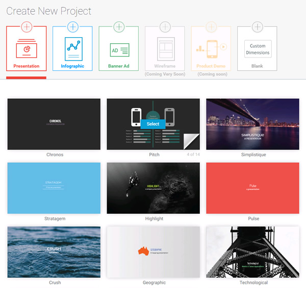 Visme Presentation Template - HD Quality