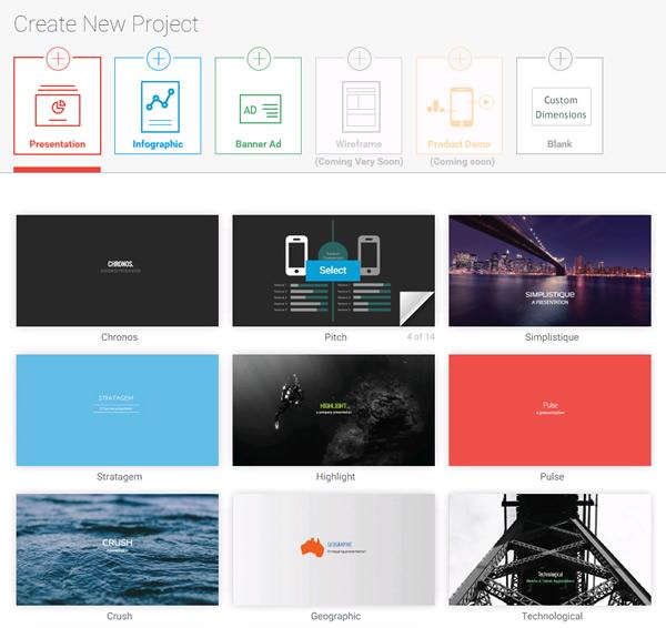 Visme Presentation Template - HD Quality