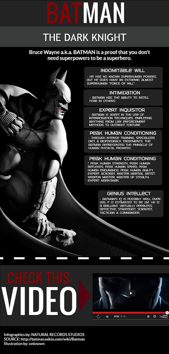Batman The Dark Knight Infographic