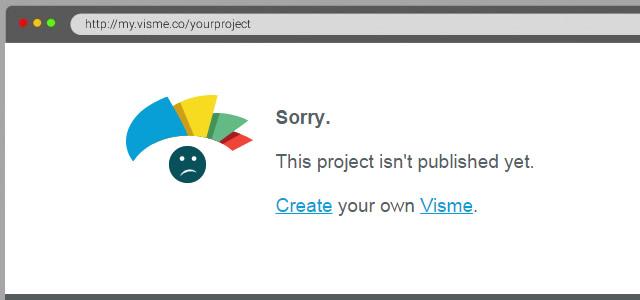 visme-not-published