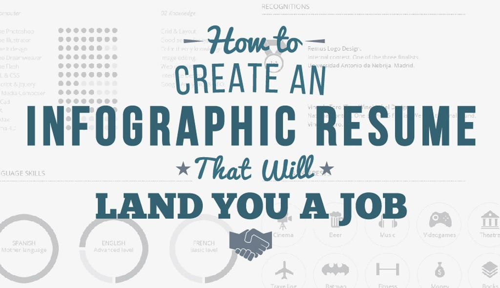 how to create an infographic resume that will land you a job - How To Create A Resume