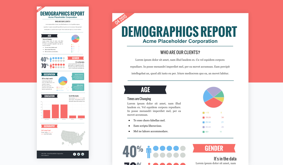 types of infographics - statistical