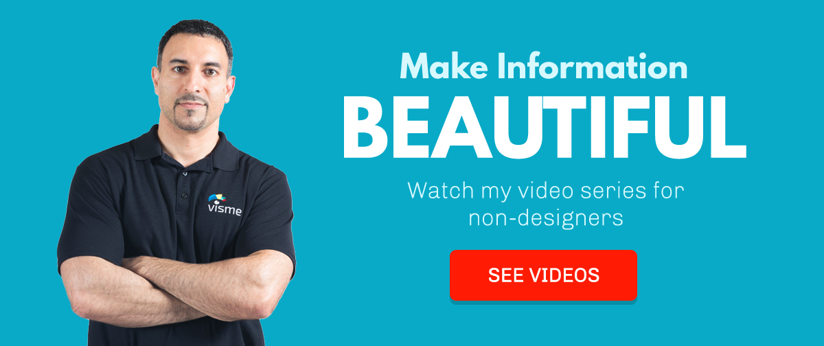 Make-Information-Beautiful-video series for non-designers