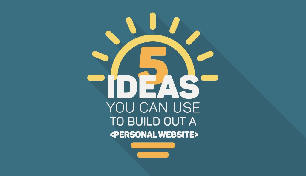 ideas-build-personal-website