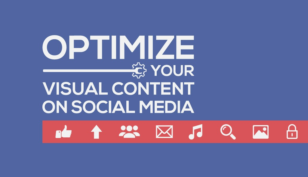 optimize visual content on social media