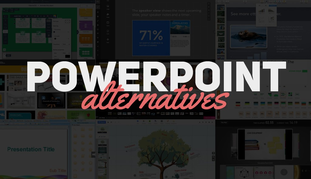 powerpoint alternatives Presentation Software