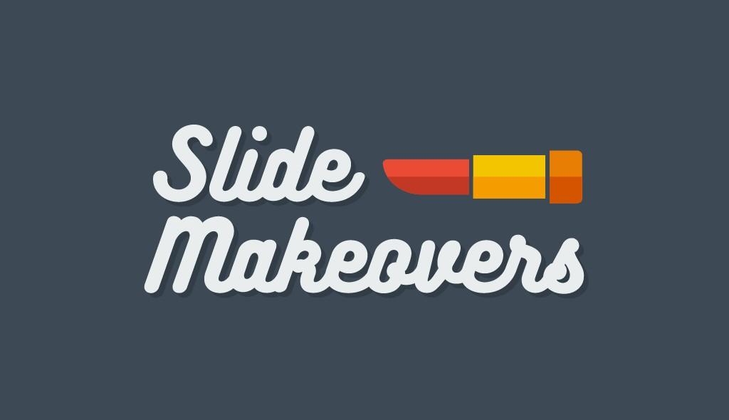 visme presentation slide makeovers