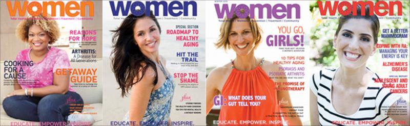 women magazine