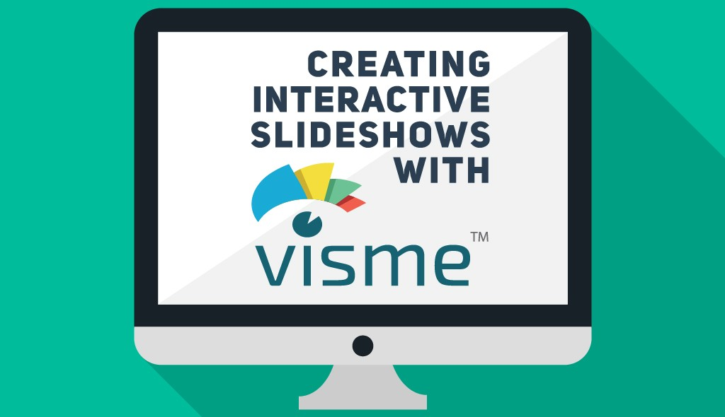 create interactive slideshows with visme