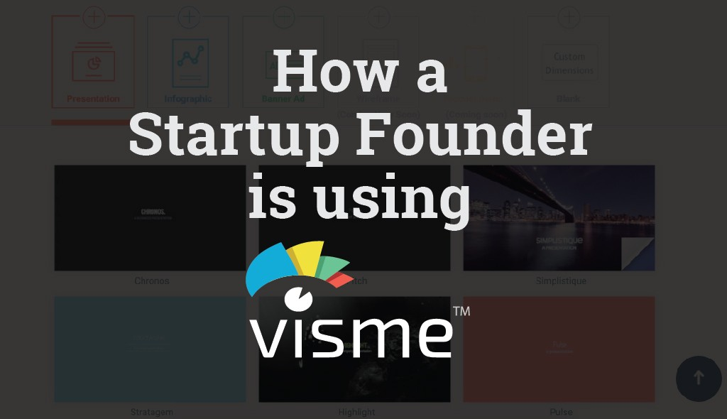 how cloudbooks is using visme