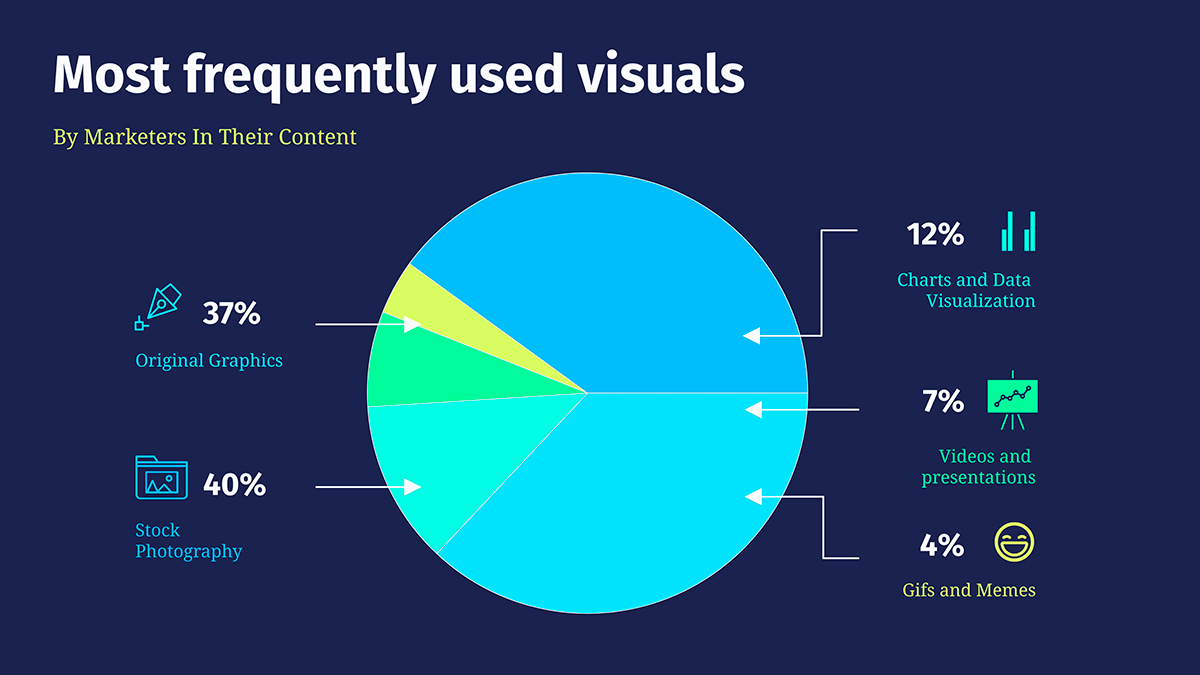 infographic icons - label charts and graphs
