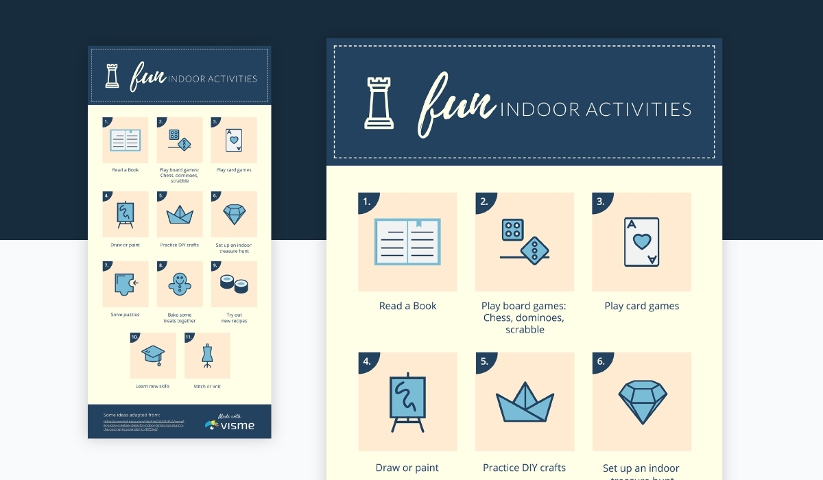 infographic icons - decorate your header