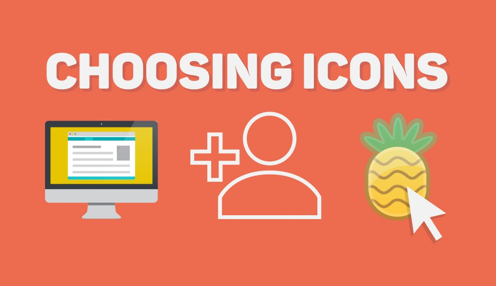 choosing the right icons for infographics