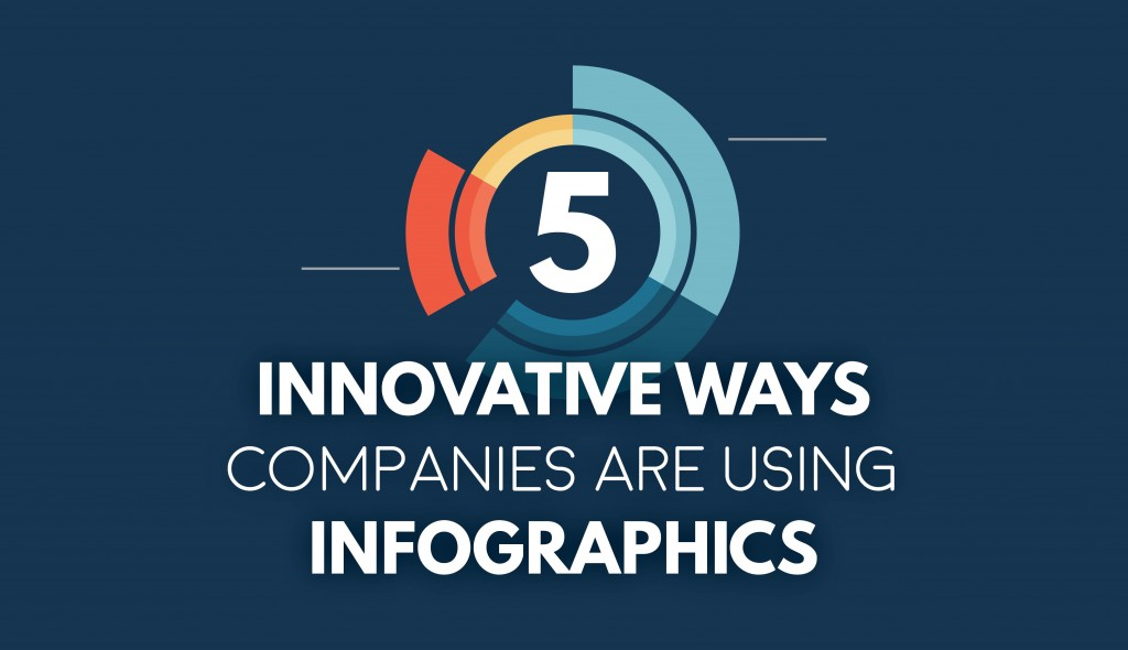 5 Innovative Ways Companies Are Using Infographics to Share Data