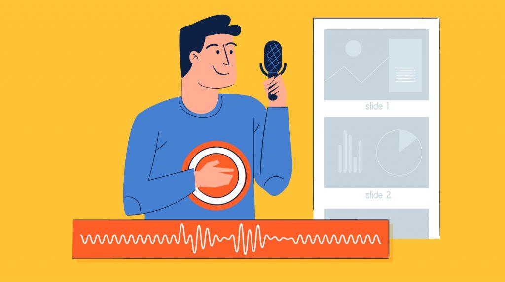 presentation voice over - header