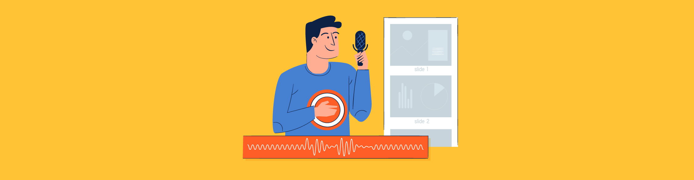 How to Create a Narrated Presentation With Voice Over Using Visme