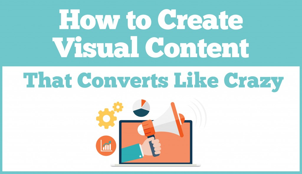 Visual content header