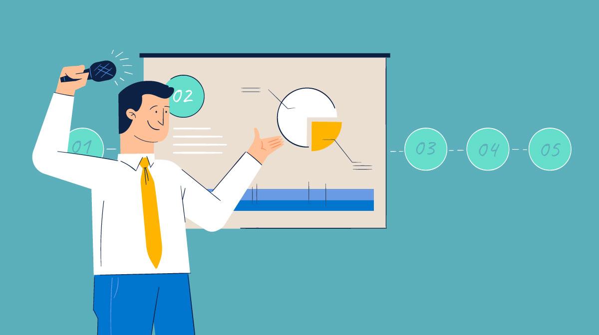 how to start a presentation - header