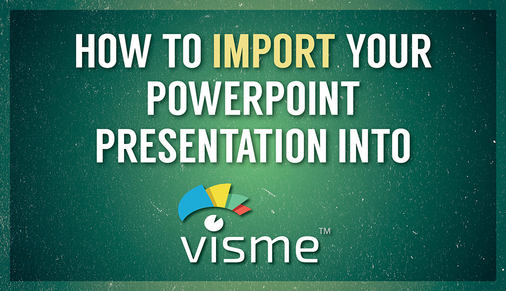 how to import a powerpoint presentation online visual learning