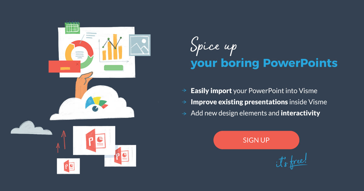 spice up your boring PowerPoints with Visme