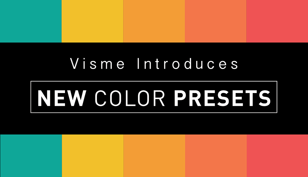 Color Combination visme introduces 50 beautiful color combination presets | visual
