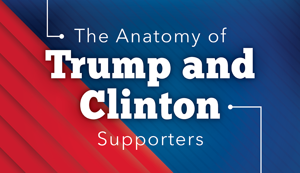 the anatomy of a trump hillary supporter