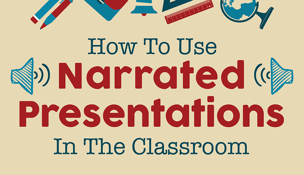 narrated presentations classroom