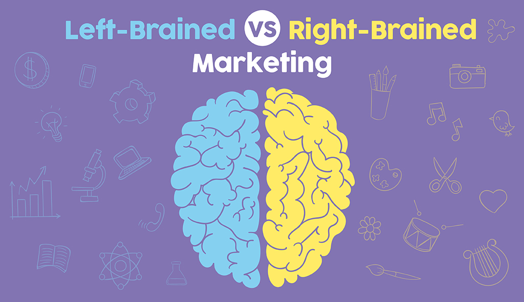 left brain right brain marketing