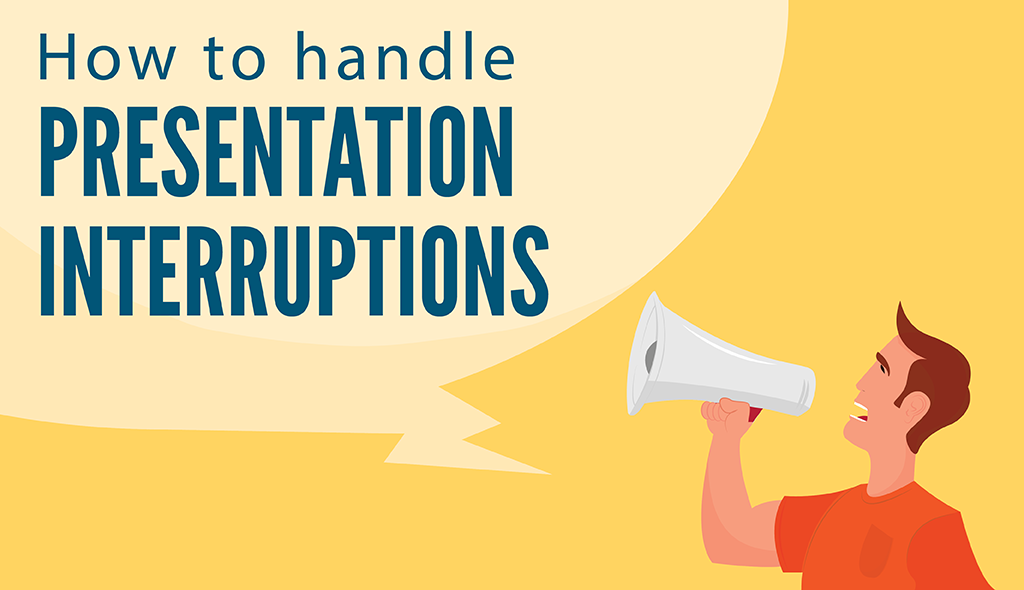 how to handle interruptions during presentations