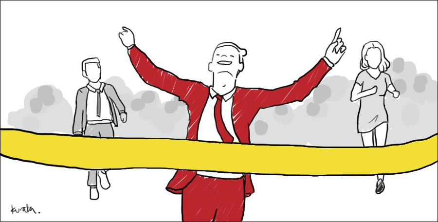 marketing strategy marathon guts and glory