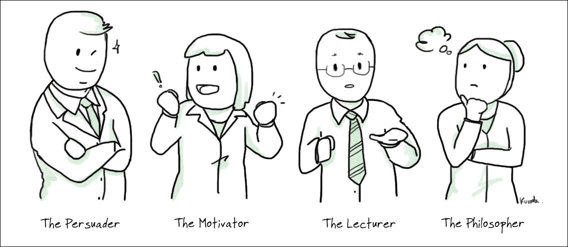 types of presenters 3