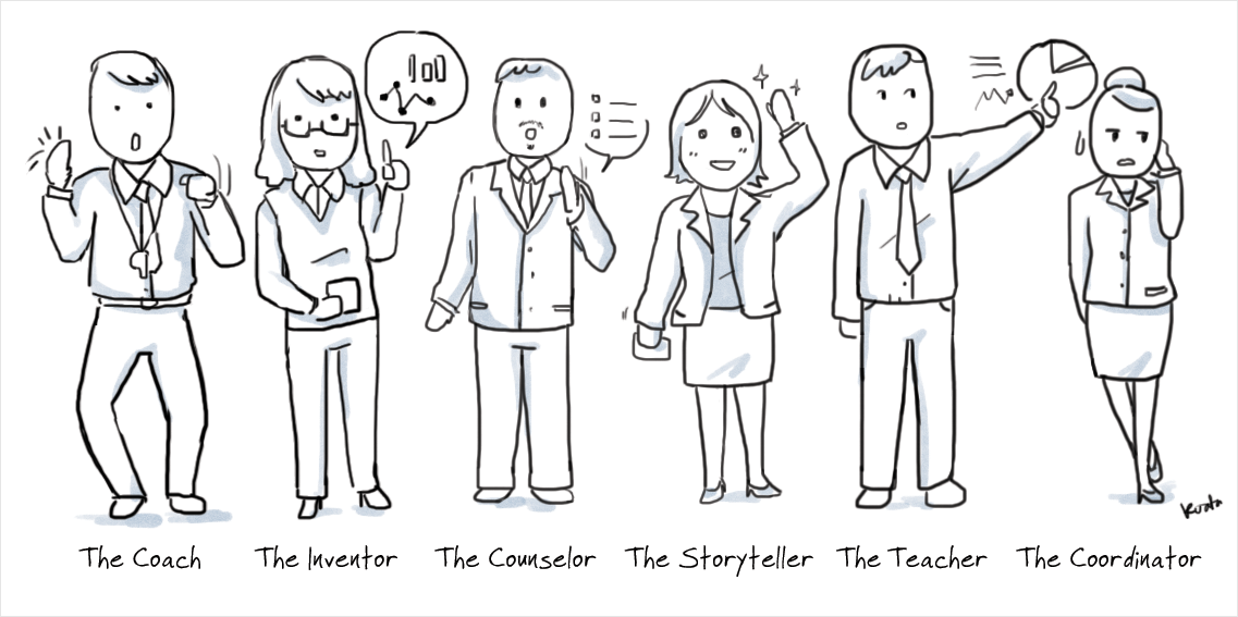 types of presenters 2
