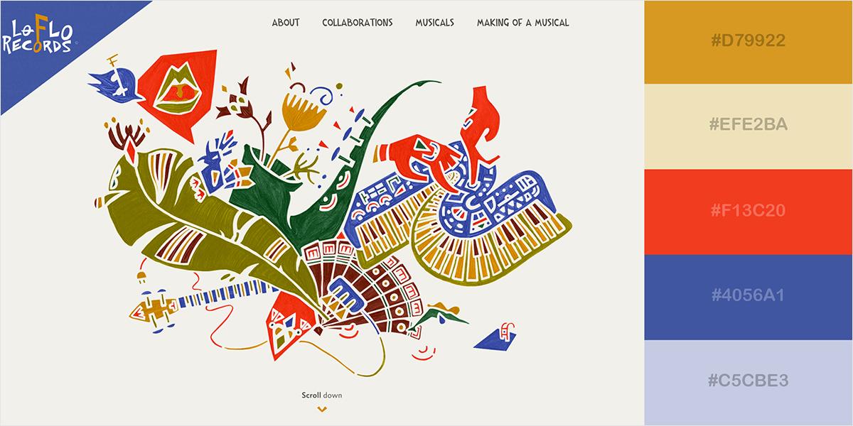 website color scheme 14