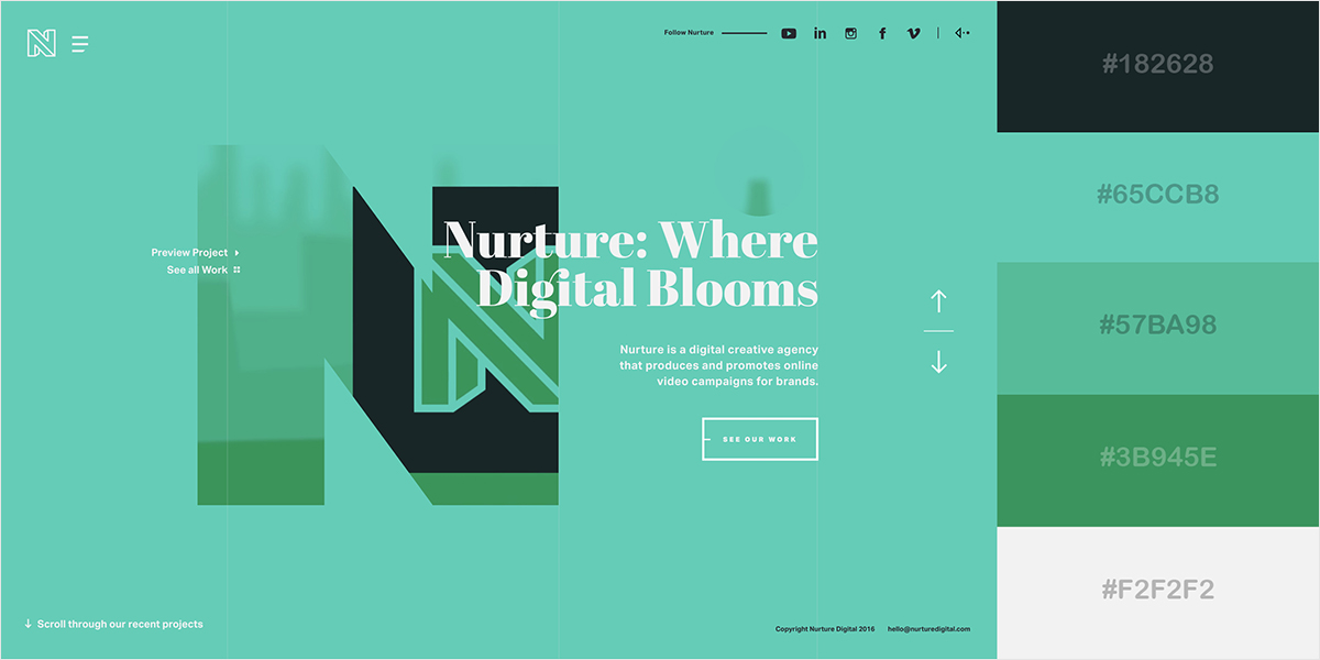 website color scheme 29
