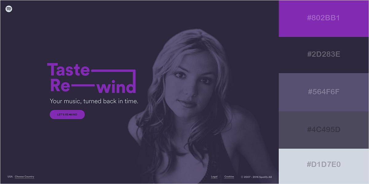 website color scheme 45