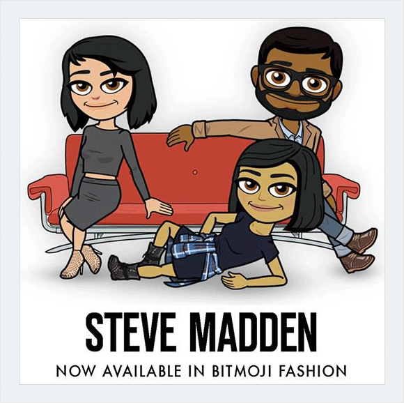 bitmoji example visual content
