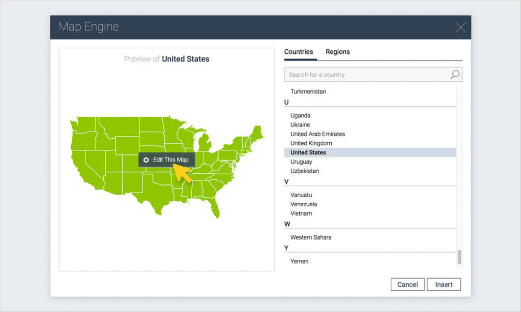 How to Create an Interactive Map with Visme | Visual Learning Center ...