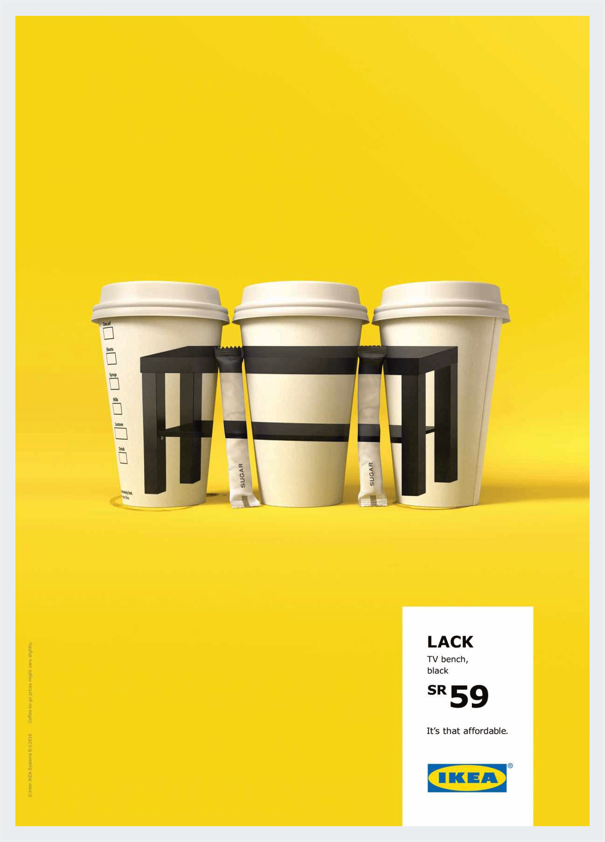 visual metaphor example ikea