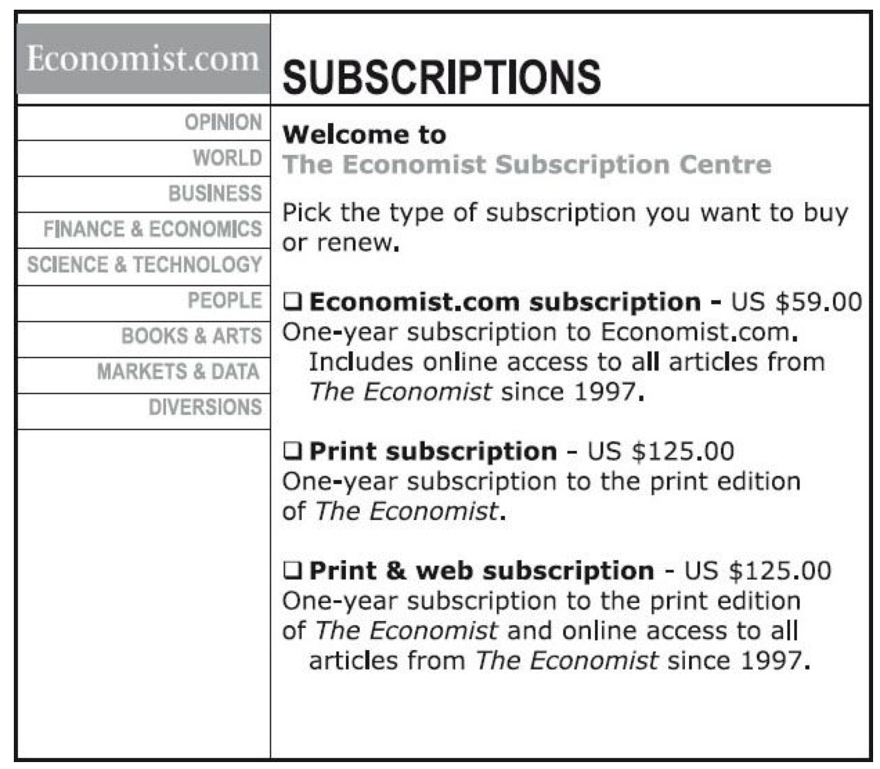 the-economist-subscription-plan