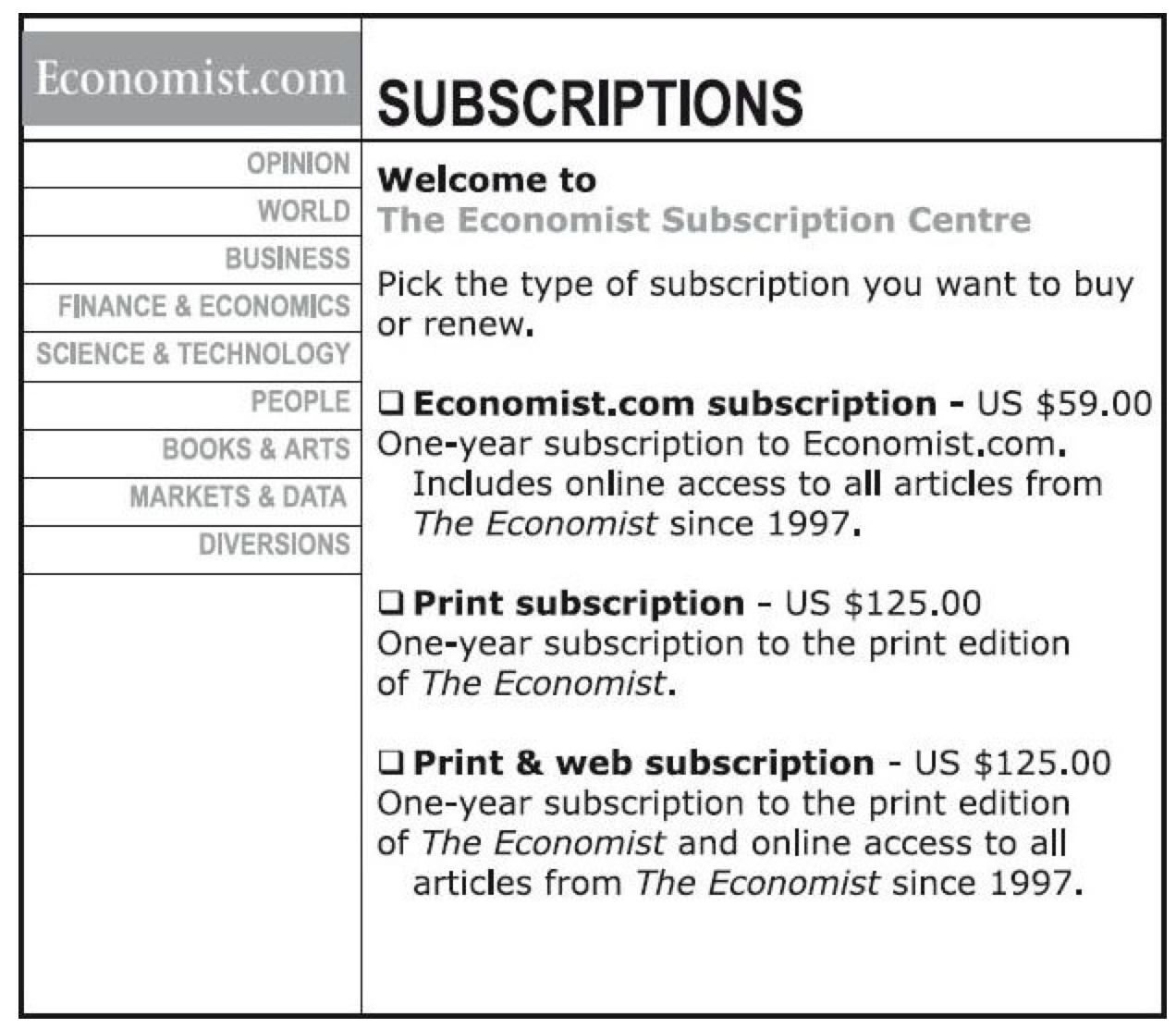 the-economist-subscription-plan