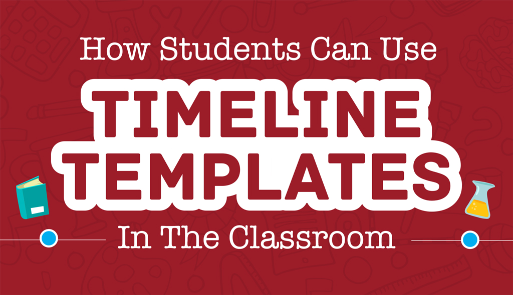 timeline template classroom header