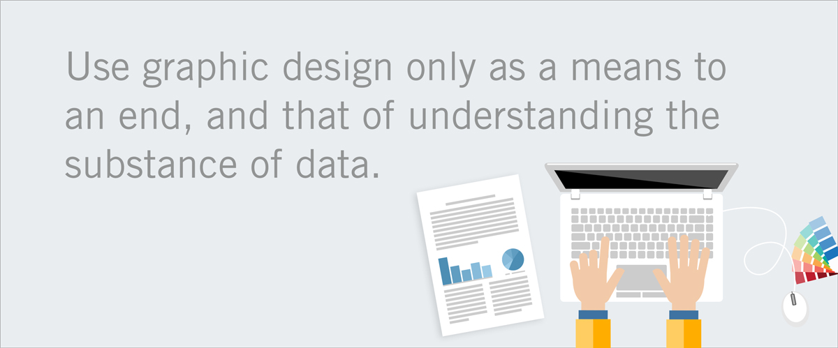 graphic design as a means to communicate data simply