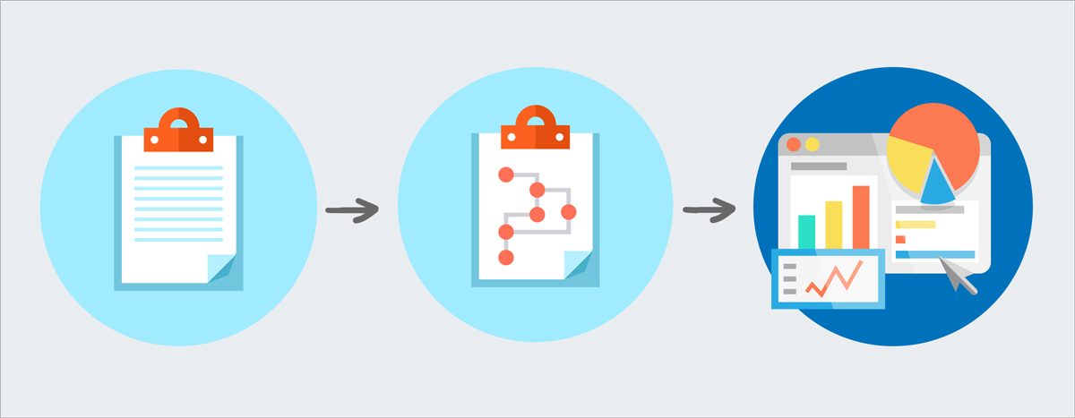convert technical information into visual data