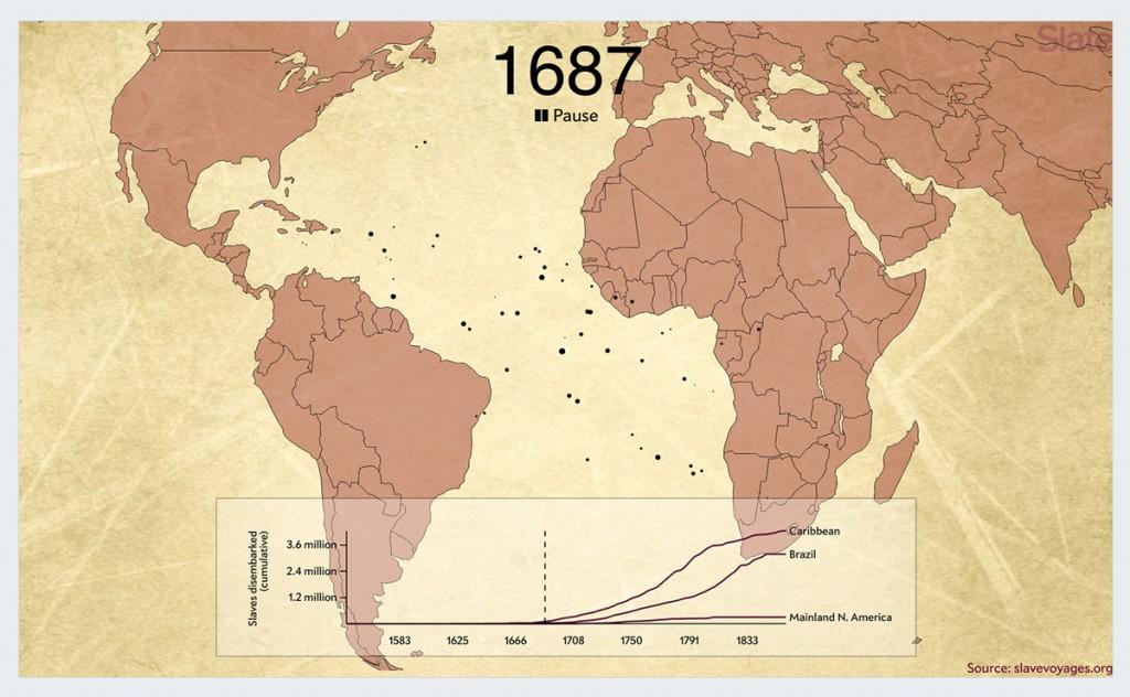 the-atlantic-slave-trade best infographics 2016
