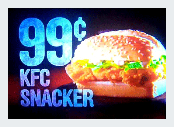 kfcsnacker example visual embed subliminal messages