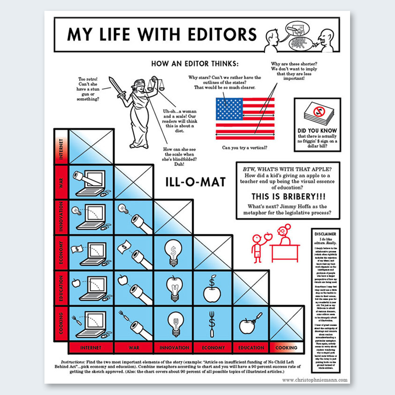 infographics as provocative statements
