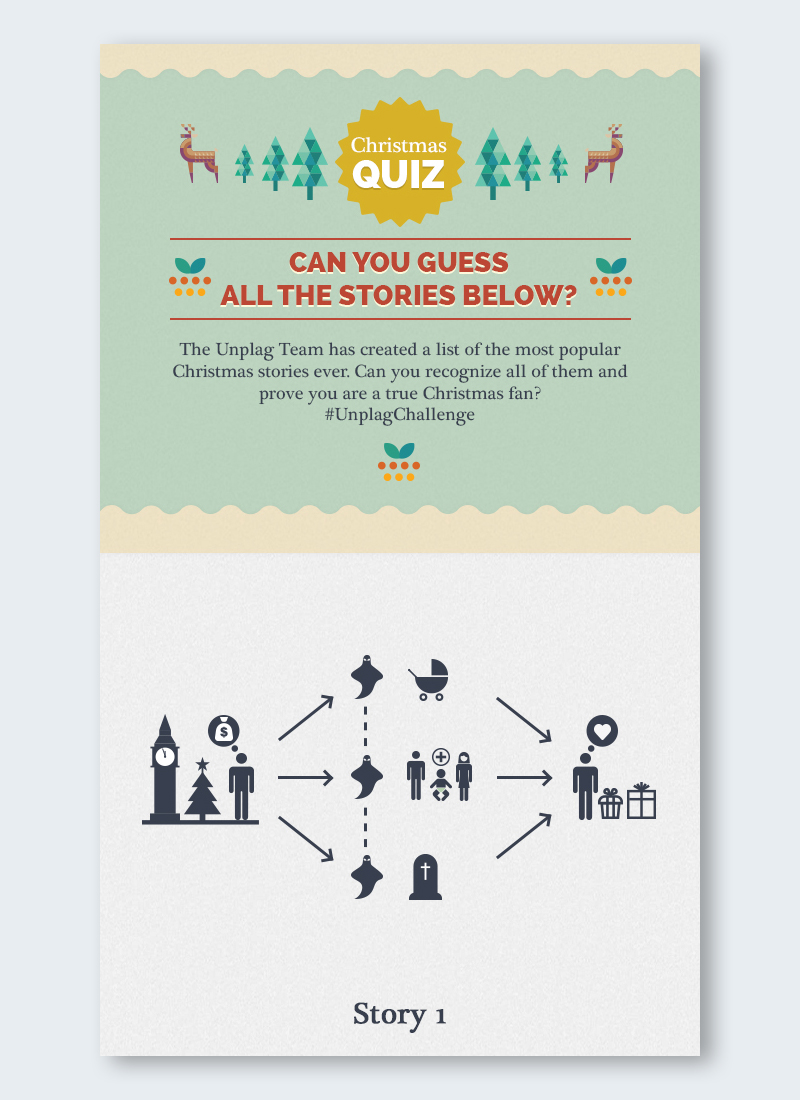 infographic quiz game