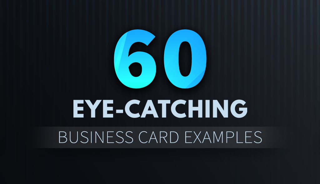Business card design inspiration 60 eye catching examples visual 60 eye catching business card reheart